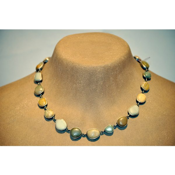 multi stone necklace - custom made