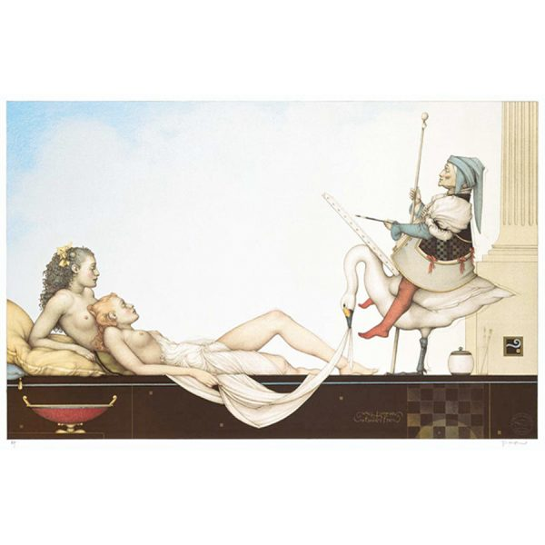 Court Painter by artist Michael Parkes