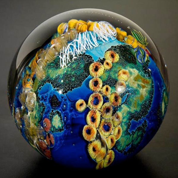 glass art planet
