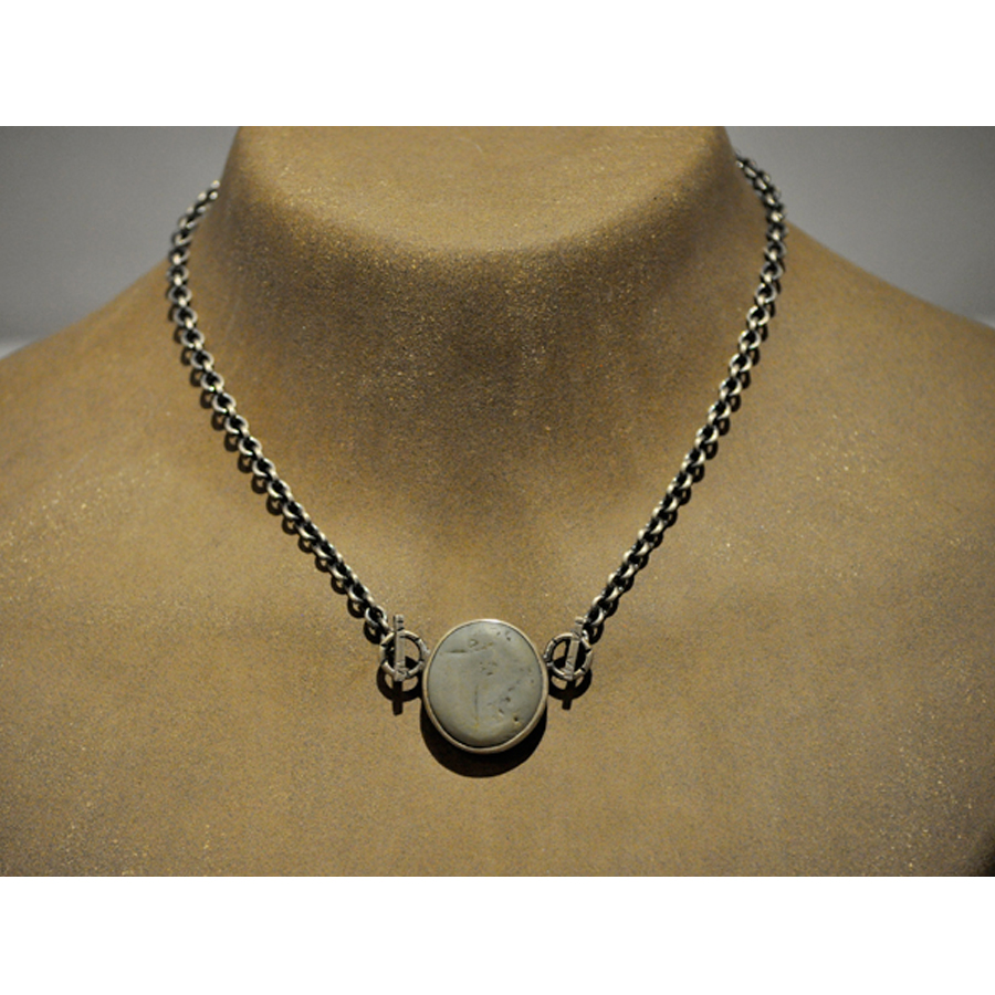 pendant pdn buy theloom at brown natural stones loom blue online ote necklace metal